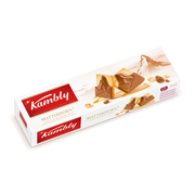 Kambly Matterhorn, Biscuit, Chocolate, Nougat, Eggs, Gluten, Milk, Nuts, Soybeans, Sesame seeds, Rectangle, 100 g, Paper