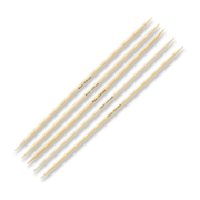 Prym 12212140, Double pointed knitting needle, Wood, Bamboo, 20 cm, 4 mm, 5 pc(s)