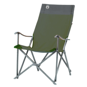 Coleman Sling Chair, 113 kg, Camping chair, 4 leg(s), 3.65 kg, Polyester, Green
