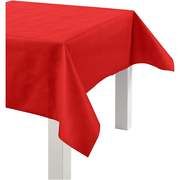 Creativ Company 594013, Rectangular, Red, Fabric, Polypropylene (PP), Tablecloth, Indoor, 1250 mm
