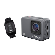 Lamax X9.1, 4K Ultra HD, 12 MP, 120 fps, Wi-Fi, 1050 mAh, 72 g