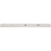 Möbius+Ruppert 1150 - 0000, Desk ruler, Polystyrene, Transparent, cm, Germany, 50 cm