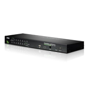 Aten CS1716A, 2048 x 1536 pixels, Rack mounting, 6.6 W, 1U, Black
