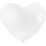 Creativ Company 59177, White, Heart-shaped, Rubber, Valentines Day, 8 yr(s), 8 pc(s)