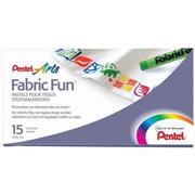 Pentel Fabric Fun, 15 pc(s)
