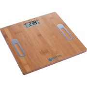 Oromed ORO-SCALE BAMBOO, Electronic personal scale, 150 kg, 100 g, kg, Square, Bamboo