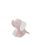 Bambam Pink Elephant in Giftbox, Toy animals, Pink, White, Boy/Girl, Indoor & outdoor
