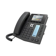 Fanvil X5S, Black, Wired handset, Digital, Desk/Wall, LCD, 480 x 320 pixels