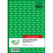 Sigel SD017, 80 sheets, A5, Green