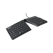 R-Go Tools Goldtouch Go!2 Mobile Keyboard QWERTZ, Mini, Wired, USB, QWERTZ, Black