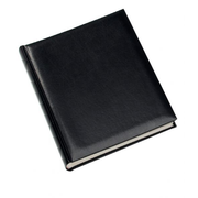 Walther Design Classic 30x37 80 S. Buch schwarz FA373B, Black, 80 sheets, Leather, 300 mm, 370 mm