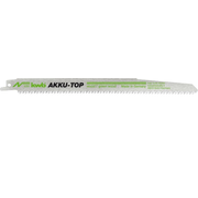 kwb 576100, Sabre saw blade, Chipboard,Hard plastic,Hardwood,Softwood,Wood, High Carbon Steel (HCS), Green, Gray, 21.8 cm, 4.2 mm