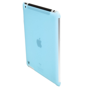"V7 Protective Back Covers, transparent blue, Cover, Apple, iPad 2, 24.6 cm (9.7""), 50 g, Blue"