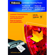 Fellowes A4 Cleaning & Carrier Sheets - 10 pack, 1 mm, 215 mm, 303 mm
