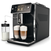 Saeco Xelsis SM7680/00, Espresso machine, 1.7 L, Coffee beans,Ground coffee, Built-in grinder, Black