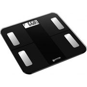 Oromed ORO-SCALE BLUETOOTH BLACK, Electronic personal scale, 180 kg, 100 g, kg, Square, Black
