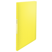 Esselte Portalistino Colour'Ice, Presentation folder, A4, Yellow, 120 sheets, 80 g/m², 235 mm