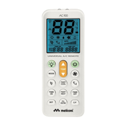 Meliconi AC 100, Air conditioner, RF Wireless, Press buttons, Built-in display, White