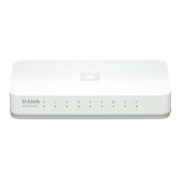 D-Link GO-SW-8E/E, Unmanaged, Fast Ethernet (10/100), Full duplex