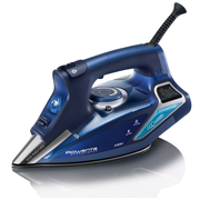 Rowenta DW9240, Steam iron, Stainless Steel soleplate, 2.5 m, 230 g/min, Blue, 65 g/min