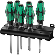 Wera 335/350/355/6 Kraftform Plus, Black/Green