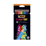 BIC 950527, Black,Blue,Brown,Green,Red,Violet,Yellow, 12 pc(s)