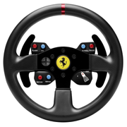 Thrustmaster Ferrari 458 Challenge Wheel Add-On, Steuerrad, PC, Playstation 3, D-Pad, Verkabelt, USB 2.0, Schwarz