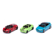 Siku 6314, Black, Green, Red, Convertible model, Metal, Plastic, Convertible set