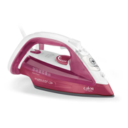 Calor FV4920C0, Dry & Steam iron, Durilium soleplate, 2 m, 140 g/min, Pink,White, 40 g/min