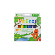 Malinos 301036, 6 pc(s), Black, Blue, Green, Red, Violet, Yellow, Multicolour, Round