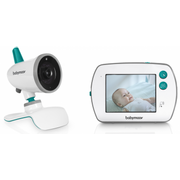 "BabyMoov YOO-Feel, 250 m, 2.406 - 2.475 GHz, Gray, Turquoise, White, 8.89 cm (3.5""), Battery, Lithium"