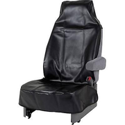 HP Autozubehör 19321, Seat cover, Black, Faux leather, Monotone, Universal, 1400 mm