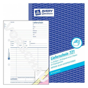 Avery 721, Blue, White, Paper, 148 mm, 210 mm