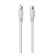 Belkin 75dB Satellite Cable 5m, 5 m, RG-6/U, F-type, F-type, White