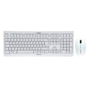 CHERRY DW 3000, Standard, Wireless, RF Wireless, QWERTZ, Grey, Mouse included