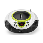 Lenco SCD-38-USB, Green, Personal CD player