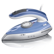 Severin BA 3234, Dry & Steam iron, Stainless Steel soleplate, Blue,Silver, 0.05 L, 1000 W