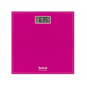 Tefal PP1063V0, Electronic personal scale, 150 kg, 100 g, kg, lb, ST, Square, Pink