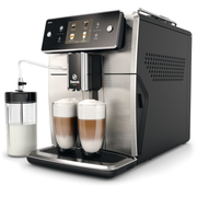 Saeco Xelsis SM7683/00, Espresso machine, 1.7 L, Coffee beans,Ground coffee, Built-in grinder, Black,Stainless steel