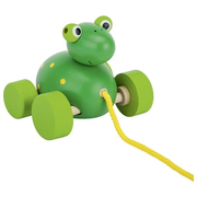 Goki 54991, Green, Wood, 12 month(s), Frog, CE, 80 mm