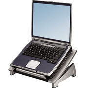 "Fellowes Office Suites Laptop Riser, Black, 43.2 cm (17""), 5 kg, 140 - 190 mm, 382 mm, 290 mm"