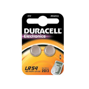 Duracell LR54, Single-use battery, SR54, Alkaline, 2 pc(s), Button/coin