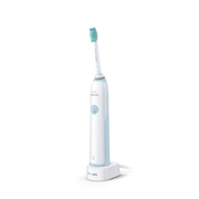 Philips Sonicare CleanCare HX3212/01, Sonic toothbrush, 31000 movements per minute, Daily care, Blue, White, 2 min, Battery