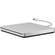 Apple USB SuperDrive, Silver, Slot, Horizontal, DVD±R/RW, USB 2.0, CD,DVD
