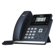 Yealink SIP-T41S, Black, Wired handset, Digital, Desk/Wall, In-band,Out-of band,SIP info, LCD
