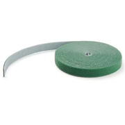 StarTech.com 25ft Hook and Loop Roll - Cut-to-Size Reusable Cable Ties - Bulk Industrial Wire Fastener Tape /Adjustable Fabric Wraps Green / Resuable Self Gripping Cable Management Straps (HKLP25GN), Velcro strap cable tie, Green, REACH, 7.62 m, 19 mm, 2.38 mm