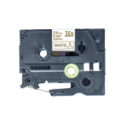 Brother TZE-R254, PT-P900W, PT-H500, PT-P750W, PT-P950NW, PT-D600VP, PT-D800W, Gold, Thermal transfer, White, Brother, 2.4 cm