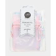 I am Creative 2100.07, Gift wrap tag, Blue, Pink, White, Monotone, 90 mm, 120 mm, 22 g