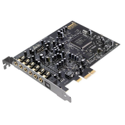 Creative Labs Sound Blaster Audigy Rx, 7.1 channels, Internal, 24 bit, 106 dB, PCI-E