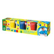 SES Creative My First Fingerpaint 4 colours x 145ml, Blue,Green,Red,Yellow, Gluten free, 150 ml